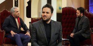 عکس اینستاگرام علی عبدالمالکی در کنار مهران مدیری در دورهمی