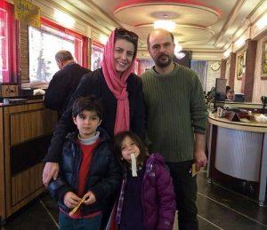 عکس اینستاگرام لیلا حاتمی و خانواده