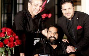 عکس اینستاگرام علی عبدالمالکی در کنار رضا صادقی
