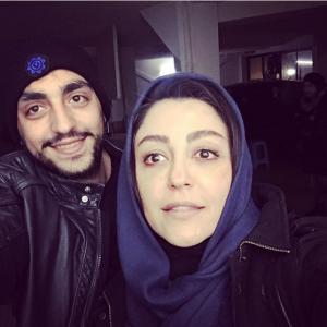 عکس اینستاگرام شقایق فراهانی و پسرش