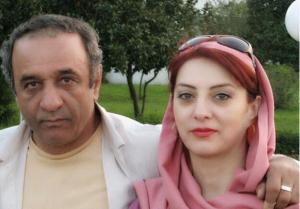 عکس اینستاگرام حمیرا ریاضی و همسرش
