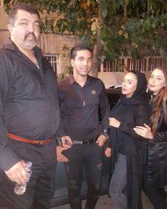 عکس اینستاگرامی احمد ایراندوست در شب عاشورا