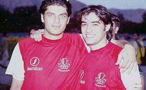 عکس اینستاگرامی سام درخشانی و شهاب حسینی