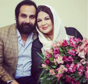 عکس اینستاگرام شهره سلطانی و همسرش