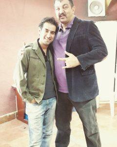 عکس اینستاگرامی احمد ایراندوست در کنار شهاب حسینی