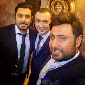 عکس اینستاگرام احسان خواجه امیری در کنار محمد علیزاده و مهرداد نصرتی