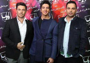 عکس اینستاگرام فرزاد فرزین در کنار محمدرضا گلزار و احسان علیخانی