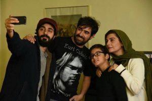 عکس اینستاگرامی بابک حمیدیان همراه شهاب حسینی