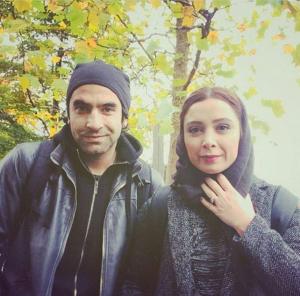 عکس اینستاگرام فرناز رهنما و همسرش