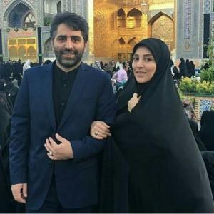 عکس اینستاگرام ژیلا صادقی و همسرش