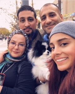 عکس اینستاگرام لاله صبوری و خانواده