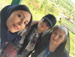 عکس اینستاگرام پرستو صالحی و خانواده