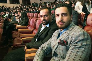 عکس اینستاگرامی احمد مهرانفر و امیر حسین صدیقیان