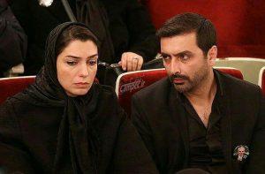 عکس اینستاگرامی امید زندگانی و همسرش در مراسم علی معلم