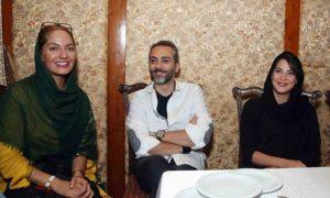 عکس اینستاگرامی علی قربانزاده و مهناز افشار