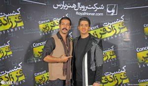 عکس اینستاگرام فرزاد فرزین در کنار کامران تفتی