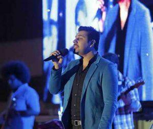 عکس اینستاگرام احسان خواجه امیری خواننده محبوب در کنسرتش