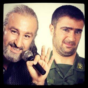 عکس اینستاگرامی احمد مهرانفر در لباس سرباز