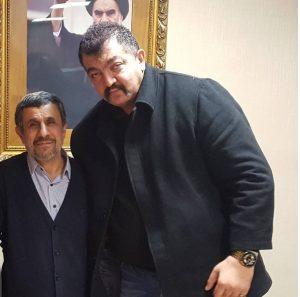 عکس اینستاگرامی احمد ایراندوست در کنار احمدی نژاد
