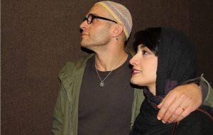 عکس اینستاگرامی بابک حمیدیان و همسرش