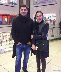 عکس اینستاگرامی سام درخشانی در خرید با همسرش