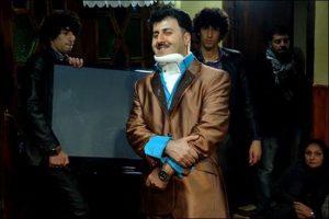 عکس اینستاگرامی هومن حاجی عبداللهی با گردن شکسته