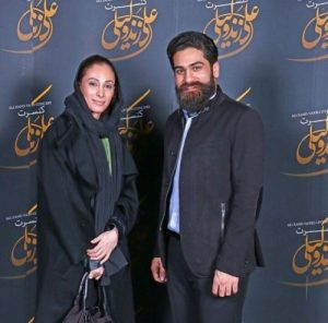 عکس اینستاگرام علی زند وکیلی در کنار سحر زکریا