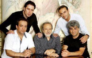 عکس اینستاگرام نیما مسیحا در کنار بابک صحرایی و ایرج قادری