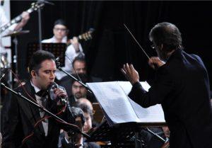 عکس اینستاگرام نیما مسیحا در حال اجرای کنسرتعکس اینستاگرام نیما مسیحا در حال اجرای کنسرت