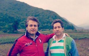عکس اینستاگرام امیر تاجیک در طبیعت