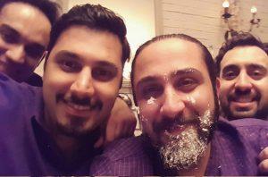 عکس اینستاگرام روزبه بمانی در کنار احسان خواجه امیری