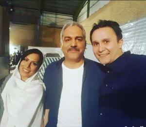 عکس اینستاگرام آیلین کیخایی و همسرش و مهران مدیری