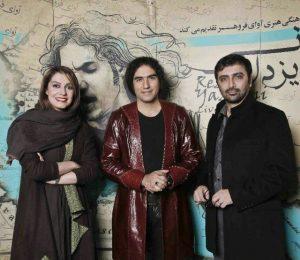 عکس اینستاگرام رضا یزدانی در کنار امین زندگانی و الیکا عبدالرزاقی