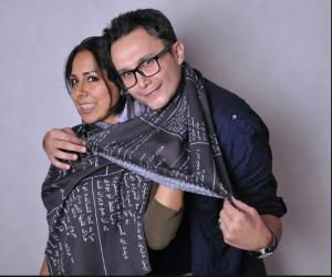 عکس اینستاگرام آیلین کیخایی و همسرش