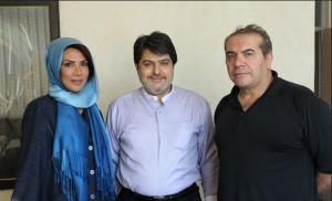عکس اینستاگرام مهشید افشارزاده و همسرش