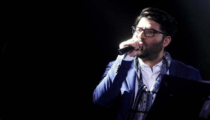 عکس اینستاگرام حامد همایون در اجرای کنسرتش