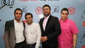 عکس اینستاگرام میثم ابراهیمی در کنار محمد علیزاده