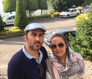 عکس اینستاگرام نیما مسیحا در کنار همسرش