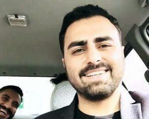 عکس اینستاگرام علی رهبری در ماشین