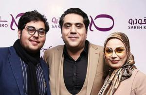 عکس اینستاگرام مانی رهنما در کنار همسر دومش صبا راد و پسرش