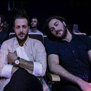 عکس اینستاگرام آرش ای پی در کنار برادرش