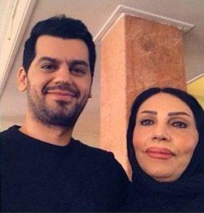 عکس اینستاگرام شهاب رمضان در کنار مادرش