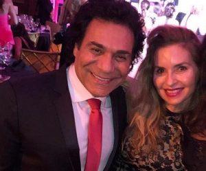 عکس اینستاگرام اندی در کنار همسرش