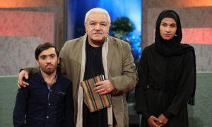 عکس اینستاگرام رسول نجفیان در برنامه تلویزیونی