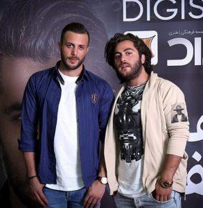 عکس اینستاگرام مسیح در کنار برادرش آرش