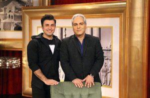 عکس اینستاگرام علیرضا طلیسچی در کنار مهران مدیری در دورهمی