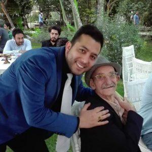 عکس اینستاگرام علی معصومی در کنار احمد پورمخبر