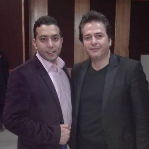 عکس اینستاگرام علی معصومی در کنار امیر تاجیک