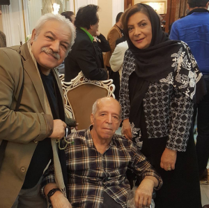 عکس اینستاگرام رسول نجفیان در کنار محسن قاضی مرادی و مهوش وقاری