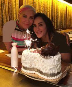 عکس اینستاگرام شهره صولتی در جشن تولدش